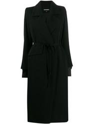 Ann Demeulemeester Belted Trench Coat 60