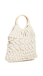 Hat Attack Cotton Cord Bag Ivory
