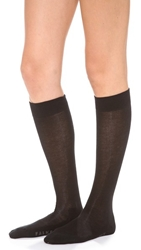 Falke Family Knee High Socks Black
