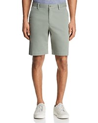 Bloomingdale's The Men's Store At Twill Regular Fit Shorts 100 Exclusive Agave Green