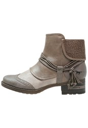 Mustang Boots Erde Ivory Taupe Beige