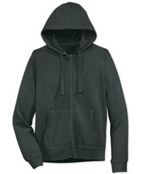 American Rag Men's Washed Fleece Zip Hoodie With Pockets Only At Macy's Dark Lead