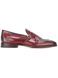 Henderson Baracco Slip On Loafers Red