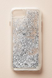 Anthropologie Casetify Glitterbug Iphone 6 7 Case Silver