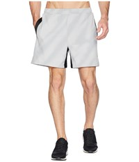 Asics Condition Graphic 6 Shorts Stone Grey Gray