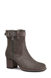 Trask 'Madison' Short Boot Gray Waterproof Suede