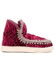 Mou Eskimo Boots Red