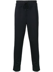 Public School Drawstring Track Pants Black