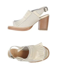 Purified Sandals Ivory