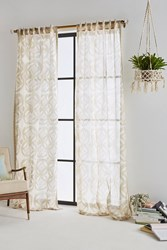 Anthropologie Avrille Curtain Sand