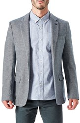 7 Diamonds Men's Lucca Casual Blazer Navy Grey