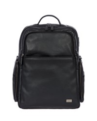Bric's Torino Large Leather Business Backpack Black