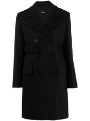 Theory Belted Double Breasted Coat 60