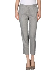 Kiltie Casual Pants Light Grey