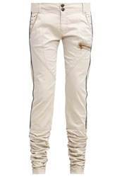 Cream Viola Trousers Kit Beige