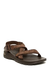 Chaco Zvolv Open Toe Sandal Brown