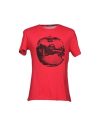 Full Circle T Shirts Red