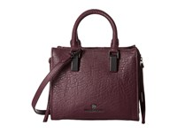 Vince Camuto Riley Small Satchel Plum Satchel Handbags Purple