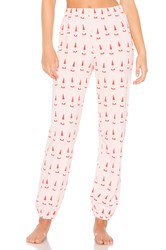 Wildfox Couture Lil Claus Sweatpants Pink