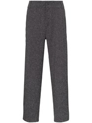 Lot 78 Lot78 Side Stripe Tailored Trousers Grey