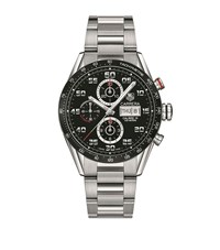 Tag Heuer Carrera Calibre 16 Day Date Automatic Chronograph Watch Unisex Black