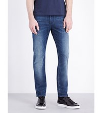 Tommy Hilfiger Bleecker Slim Fit Stretch Denim Jeans Rye Indigo