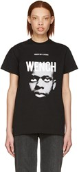 Hood By Air Black Wench Laura Face T Shirt