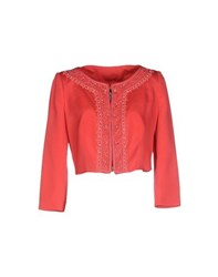 Blumarine Suits And Jackets Blazers Women Coral