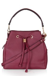 Topshop 'Westly' Faux Leather Satchel