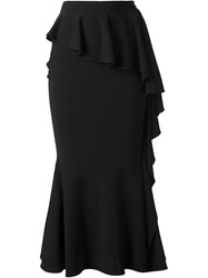 Givenchy Long Ruffled Skirt