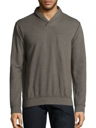 Splendid Mills Cotton Blend Sweater Oak