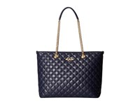 Love Moschino Quilted Tote Navy Tote Handbags