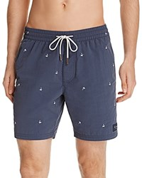 Barney Cools B.Cools Mini Palm Amphibious Swim Trunks Navy Palm