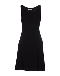 Bruno Manetti Short Dresses Black