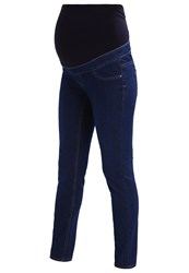 New Look Maternity Anna Slim Fit Jeans Navy Dark Blue