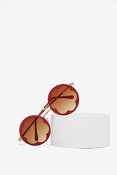 Nasty Gal In The Bud Circle Shades