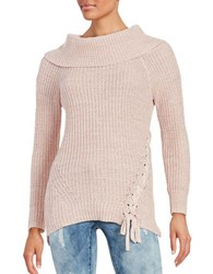 Jessica Simpson Gwenore Knit Sweater Pink