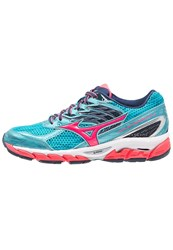 Mizuno Wave Paradox 3 Stabilty Running Shoes Capri Diva Pink Dress Blues Turquoise