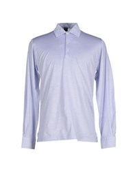 Fedeli Topwear Polo Shirts Men Blue