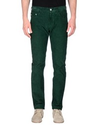Fred Perry Casual Pants Dark Green