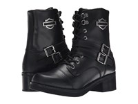 Harley Davidson Melinda Black Women's Lace Up Boots