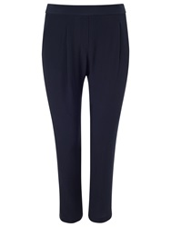 Phase Eight Ffion Tapered Trousers Navy