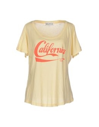 Wildfox Couture Wildfox T Shirts Light Yellow