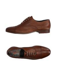 Dama Footwear Lace Up Shoes Brown