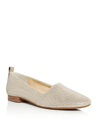 Paul Green Lenny Metallic Perforated Flats Gold