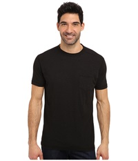 Agave Denim Roseburg S S Pocket Tee Caviar Men's T Shirt Black