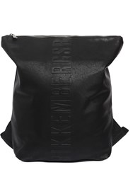Bikkembergs Army Faux Leather Backpack Sac Black