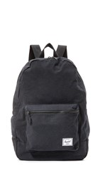 Herschel Packable Canvas Backpack Black