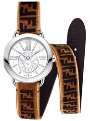 Fendi Selleria Strap You Brown