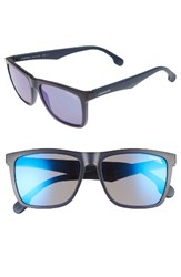 Carrera Men's Eyewear 56Mm Sunglasses Matte Blue Blue Sky Mirror Matte Blue Blue Sky Mirror